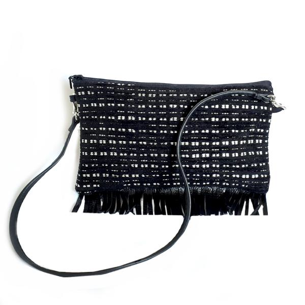 Musta käsilaukku