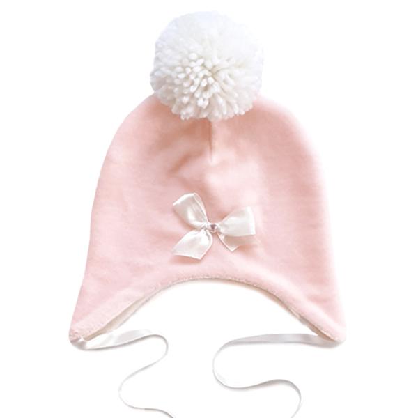 Vauvan hattu tupsulla