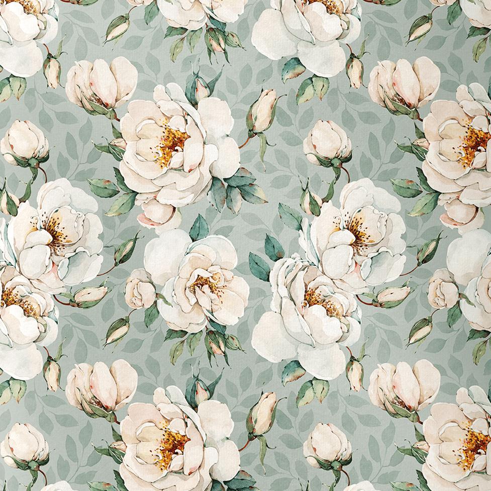 Peach roses, minttu
