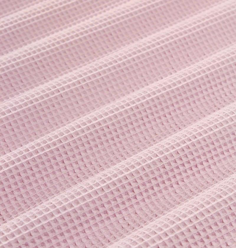 Vohvelikangas, vaaleanpunainen